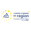 LOGO EUROPE AUVERGNE RHONE ALPES